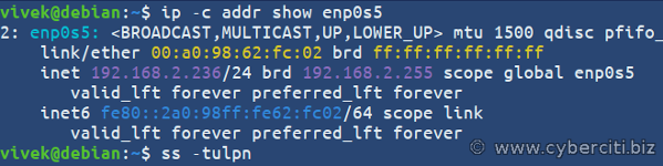 Cómo configurar una IP estática en Debian 10 u 11