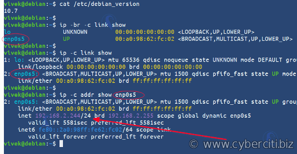 Cómo configurar una dirección IP estática en Debian Linux