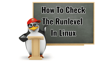 Check The Runlevel In Linux