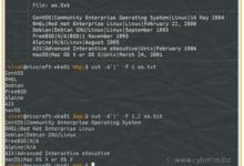 Cortar comando en Linux con ejemplos